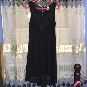 Low Hi Hem Dress